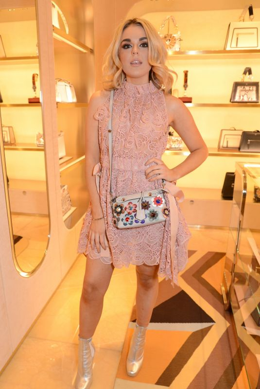TALLIA STORM at Fendi Sloane Square Boutique Opening in London 12/14/2017