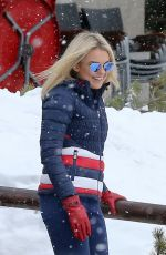 TALLIA STORM on Holiday at St. Moritz 12/24/2017