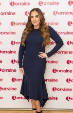 TAMARA ECCLESTONE at Lorraine Show in London 12/13/2017