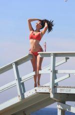 TANIA MARIE in Bikini for 138 Water Photoshoot in Venice Beach 12/11/2017