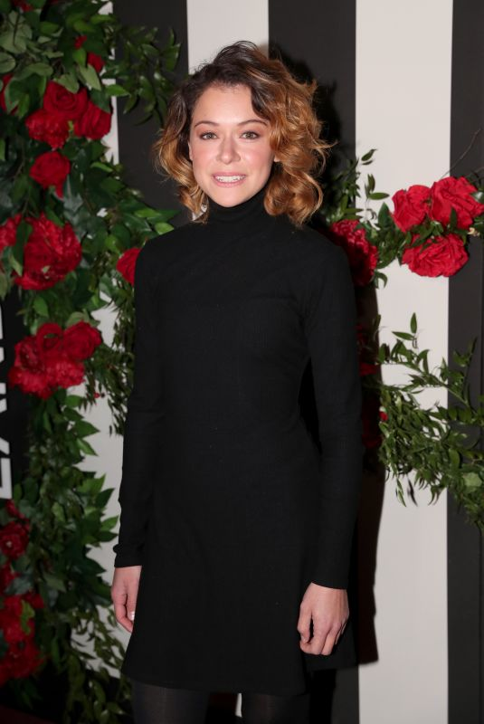 TATIANA MASLANY at Land of Distraction Launch in Los Angeles 11/30/2017