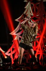 TAYLOR SWIFT Performs at Iheartradio 102.7 Kiis FM's Jingle Ball in Los Angeles 12/01/2017
