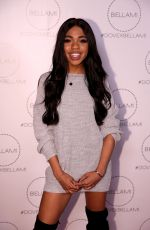 TEALA DUNN at Dove x Bellami Collection Launch Party in Culver City 12/02/2017