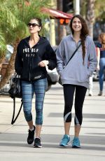 TERI HATCHER and EMERSON TENNEY Heading to a Gym in Los Angeles 12/20/2017