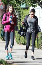 TERI HATCHER and EMERSON TENNEY Heading to a Gym in Studio City 12/22/2017