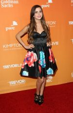 TIFFANY ALVORD at Trevor Project's 2017 Trevorlive Gala in Los Angeles 12/03/2017