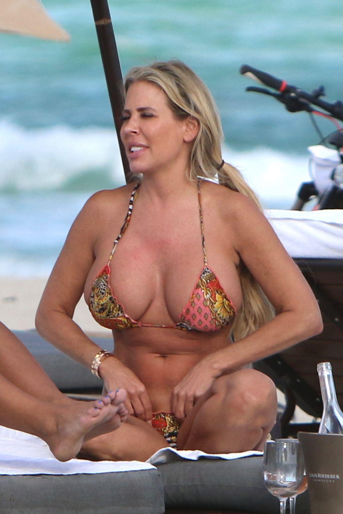 Bikini beach slut