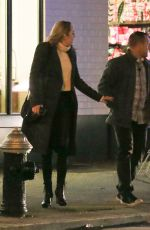 TIFFANY TRUMP Out for Dinner in New York 12/18/2017