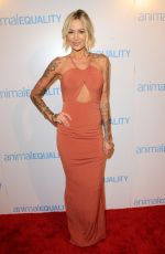 TINA LOUISE at Animal Equality Global Action Annual Gala in Los Angeles 12/02/2017