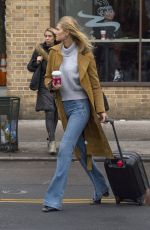 TONI GARRN in Jeand Out in New York 12/12/2017