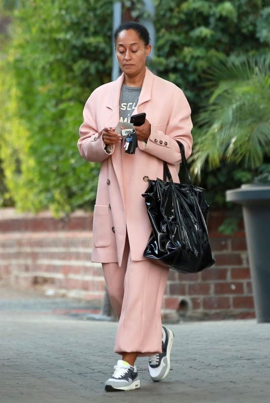 TRACEE ELLIS ROSS Out and About in Beverly Hills 12/14/2017