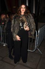 TRINNY WOODALL at Hamilton Musical Press Night in London 12/21/2017