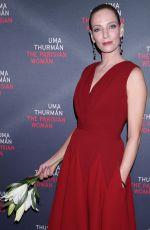 UMA THURMAN at The Parisian Woman Opening Night in New York 11/30/2017