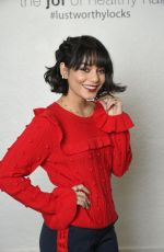 VANESSA HUDGENS at Holiday Hair with Joico in Los Angeles 12/18/2017