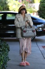 VANESSA HUDGENS Out in Los Angeles 12/18/2017