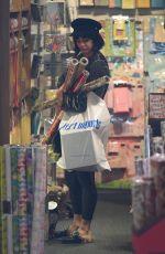 VANESSA HUDGENS Shopping at Pier 1 Imports in Los Angeles 12/20/2017