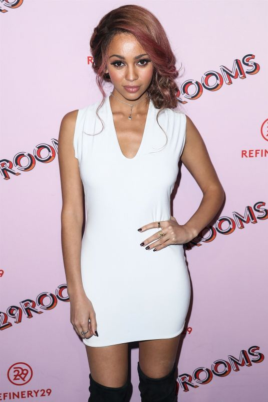 VANESSA MORGAN at Refinery29 29Rooms Los Angeles: Turn It Into Art Opening Party 12/06/2017