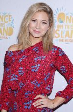 VANESSA RAY at Once on This Island Broadway Openingh Night in New York 12/03/2017