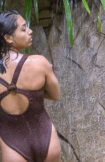 VANESSA WHITE in Swimsuit at I'm a Celebrity… Get Me Out of Here! in Australia 12/03/2017