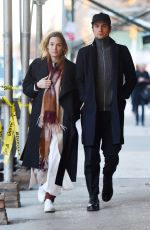 VICKY KRIEPS Out and About in New York 12/14/2017