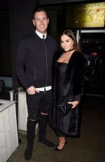 VICKY PATTISON and John Noble at Menagerie Bar and Restaurant in Manchester 12/02/2017