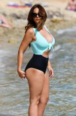 VICKY PATTISON in Swimsuit on the Beach in Cape Verde, December 2017