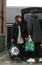 VICKY PATTISON Out Shopping in Newcastle 12/26/2017