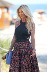VICTORIA SILVSTEDT at a Beach in Miami 12/06/2017