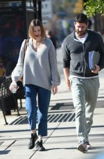 WHITNEY PORT and Tim Rosenman Out in Los Angeles 12/29/2017