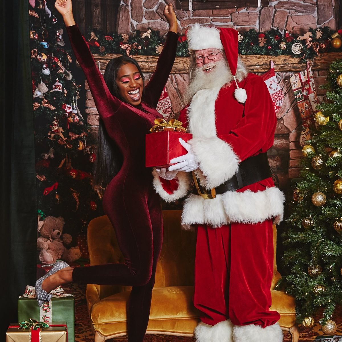 santa claus single lesbian women Download 14,730 sexy santa stock photos for free or amazingly low rates new users enjoy 60% off 88,225,527 stock photos online  fitness santa claus , show index finger and smile, on blue  and smile, on blue background beautiful girl wearing santa claus clothes  smiling woman with big and small gift women on dress and santa`s hat.