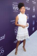 YARA SHAHIDI at Hollywood Reporter's 2017 Women in Entertainment Breakfast in Los Angeles 12/06/2017
