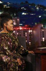 YVETTE NICOLE BROWN at Jimmy Kimmel Live 12/13/2017