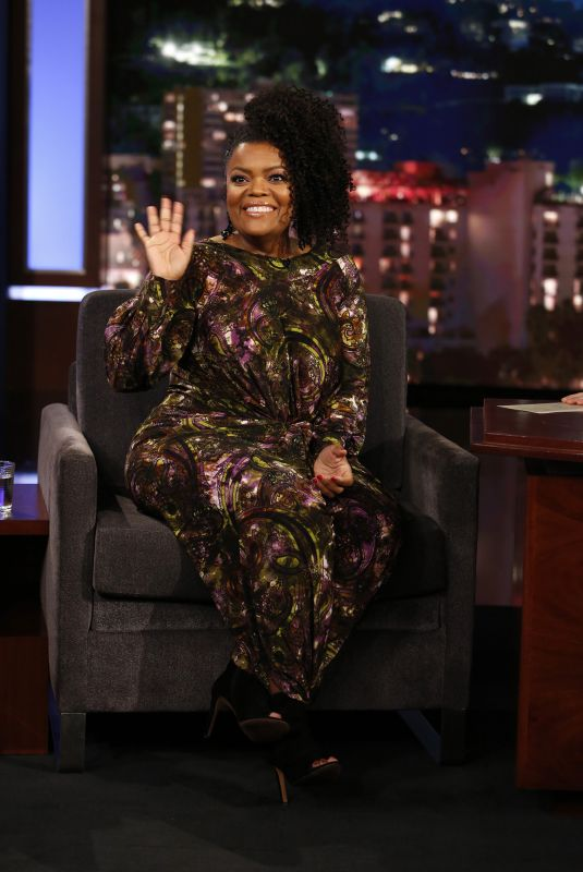 YVETTE NICOLE BROWN at Jimmy Kimmel Live 12/13/2017