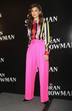 ZENDAYA at The Gratest Showman Press Conference in Mexico City 12/13/2017