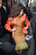 ZENDAYA COLEMAN Arrives at Today Show in New York 12/11/2017