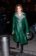 ZENDAYA COLEMAN Arrives at Tonight Show in New York 12/11/2017