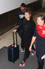 ZENDAYA COLEMAN at Airport in Sydney 12/19/2017