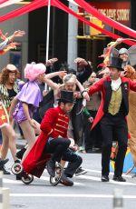 ZENDAYA COLEMAN, Hugh Jackman, Zac Efron and James Corden Promotes The Greatest Showman in New York 12/08/2017