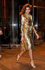 ZENDAYA COLEMAN Leaves Today Show in New York 12/11/2017
