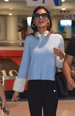 ZULEYKA RIVERA at Luis Munoz Marín Internationa Airport in San Juan 12/09/2017