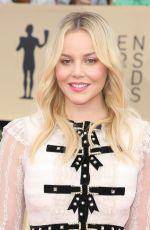 ABBIE CORNISH at Screen Actors Guild Awards 2018 in Los Angeles 01/21/2018