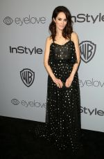 ABIGAIL SPENCER at Instyle and Warner Bros Golden Globes After-party in Los Angeles 01/07/2018