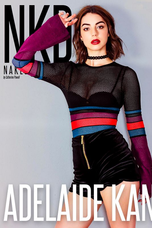 ADELAIDE KANE for NKD Magazine, Issue #79, January 2018