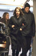 ADELAIDE KANE on the Set of Once Upon A Time in Vancouver 01/12/2018