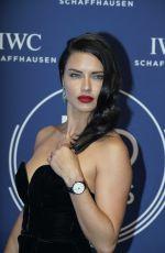 ADRIANA LIMA at IWC Schaffhausen Gala at SIHH 2018 in Geneva 01/16/2018