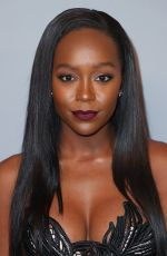 AJA NAOMI KING at Instyle and Warner Bros Golden Globes After-party in Los Angeles 01/07/2018