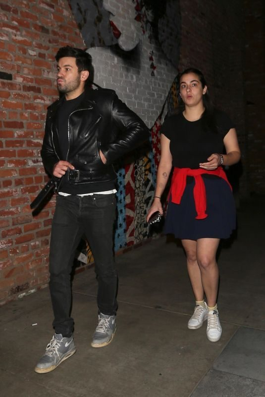 ALANNA MASTERSON at Tao in Hollywood 01/13/2018