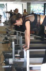 ALESSANDRA AMBROSIO at Pilates Class in Santa Monica 01/26/2018