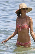 ALESSANDRA AMBROSIO in Bikini on the Beach in Florianopolis 01/02/2018