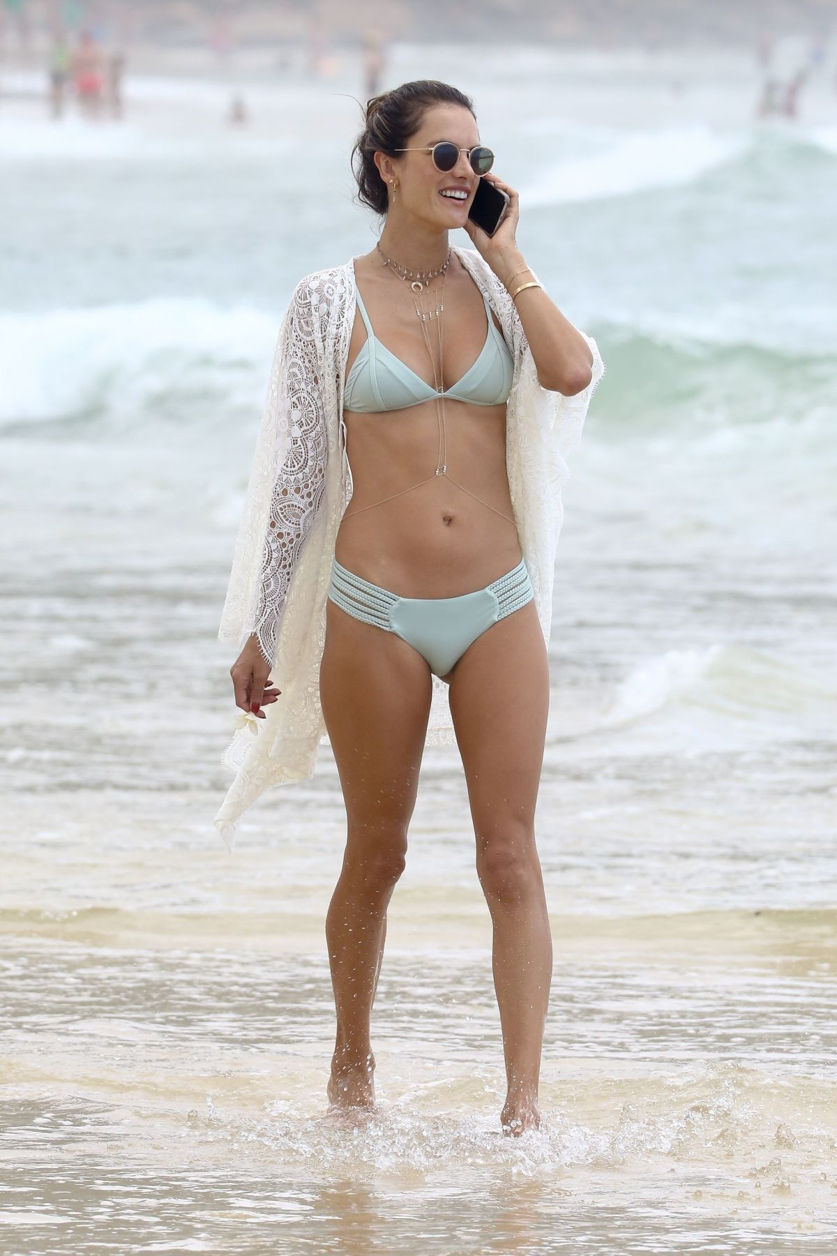 Alessandra Ambrosio Bikini Nude Photos 12